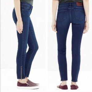 Madewell Skinny Skinny Ankle Jeans Size 25 EUC